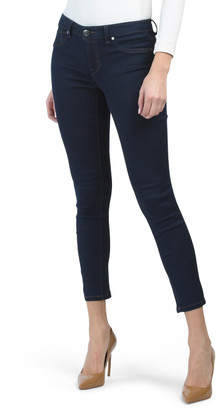 Rinse Ankle Contrast Stitching Jeans