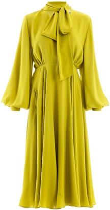 Valentino long silk dress