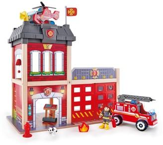 Hape Toys 13-Piece City Fire Station