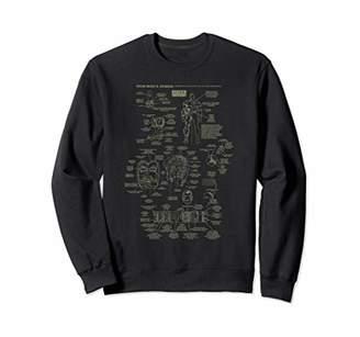 Marvel Iron Man Stark Industries Armor Details Sweatshirt