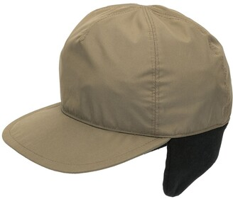 Prada Pre Owned Ear Flap Baseball Cap