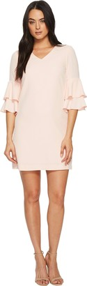 Tahari by Arthur S. Levine Women's V-Neck Shift Dress