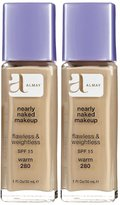 Almay Nearly Naked Makeup with SPF 15, Warm 280, 1 oz. by