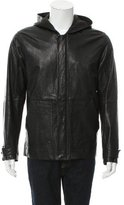 Alexander Wang Hooded Leather Jacket