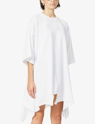 MM6 MAISON MARGIELA Asymmetric cotton-jersey mini dress