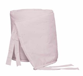 Bovi Fine Linens Amparo Crib Bumper, Pink