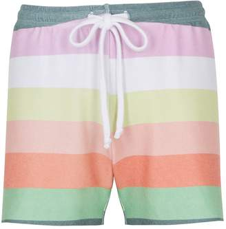 Wildfox Couture Carter Striped Jersey Shorts