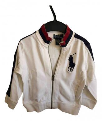 Polo Ralph Lauren White Cotton Jackets & Coats