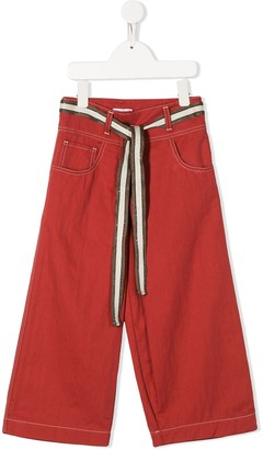 BRUNELLO CUCINELLI KIDS Tie Waist Trousers