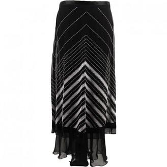 Grazia Maria Severi Black Silk Skirts