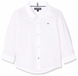 Tommy Hilfiger Boy's Stretch Oxford Shirt L/s Blouse