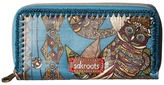 Sakroots Artist Circle Double Zip Wallet