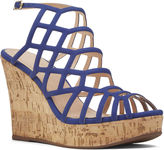 Nine West Sabrina Caged Wedges
