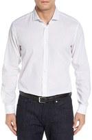 BOSS 'Ridley' Slim Fit Dot Print Sport Shirt