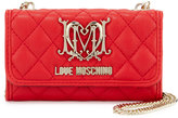 Love Moschino Faux-Leather iPhone 5 Crossbody Bag, Red