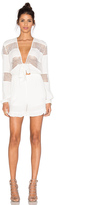 Lucy Paris Self Tie Knotted Romper