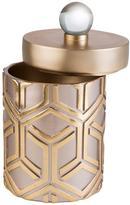 ORE International 5 in. W x 10 in. H Bamboo Weave Jewelry Box in Rose Gold