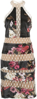 PatBO Floral Print Dress
