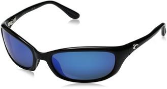 Costa del Mar Unisex-Adult Harpoon HR 11 OBMGLP Polarized Iridium Oval Sunglasses