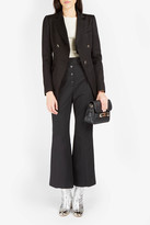 Proenza Schouler Asymmetric Double-Breasted Jacket