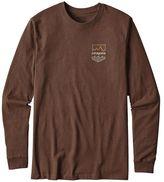 Patagonia Men's Long-Sleeved Badge Cotton/Poly Responsibili-TeeTM