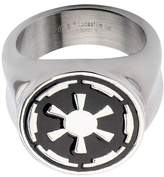 Star Wars Galactic Empire Symbol Stainless Steel Ring - 7