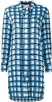 Diane von Furstenberg checked dress - women - Silk/Spandex/Elastane - 6