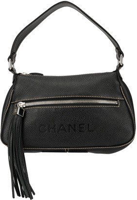 Chanel Pre Owned Tassel Detail Shoulder Bag