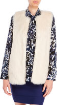 Vince Camuto Long Hair Faux Fur Vest