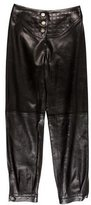 Chanel Quilted Leather Pants w/ Tags