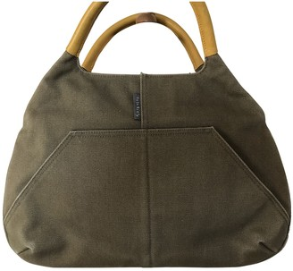 Orla Kiely Green Cotton Handbags