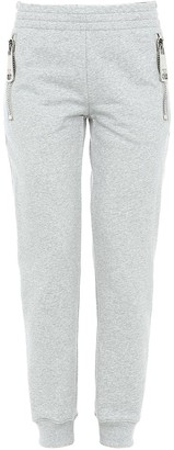 Moschino Oversized Zip Detail Fitted Sweatpants