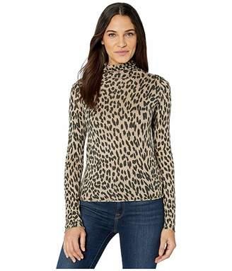 Joe's Jeans Cheetah Turtleneck Sweater