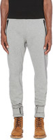 Moncler tapered cotton-jersey jogging bottoms