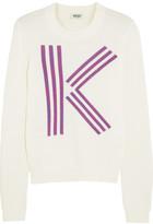 Kenzo K-intarsia cotton sweater