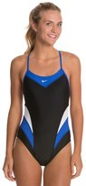 Nike Swim Victory Color Block Cut Out Tank One Piece Swimsuit 8114704