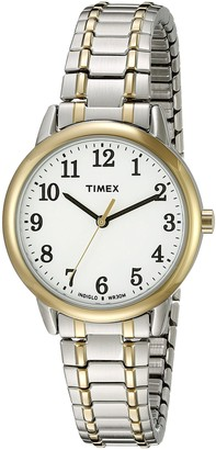 Timex Women's TW2P78700 Easy Reader Two-Tone Stainless Steel Expansion Band Watch