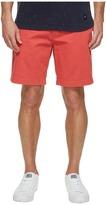 Nautica Anchor Twill Flat Front Shorts Men's Shorts