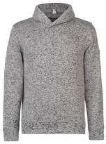 Regatta Mens Treyton Marl Shawl Collar Fleece Quarter Zip Top Sweatshirt Jumper
