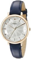 Fossil Women's ES3864 Incandesa Three-Hand Date Leather Watch - Blue
