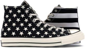 Converse Chuck 70 Archive Restructured Hi American Flag Black White