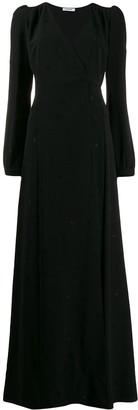 P.A.R.O.S.H. long V-neck dress