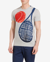 Racket And Ball Graphic T-shirt