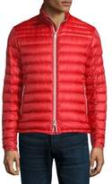 Moncler Daniel Quilted Puffer Jacket, Red