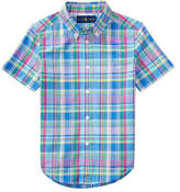 Polo Ralph Lauren Cotton Madras Shirt (5-7 years)