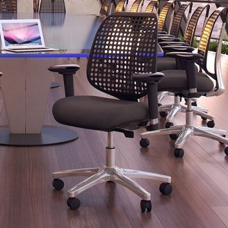 Modway Reverb Premium Task Chair Upholstery Color: Black