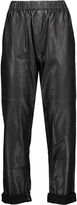 IRO Gao leather tapered pants