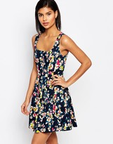French Connection River Daisy Cotton Dress
