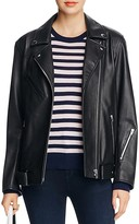 Alexander Wang Oversized Leather Moto Jacket