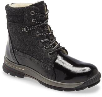 Bos. & Co. Gift Lace Up Wool & Leather Boot